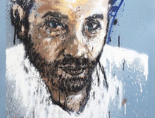Peinture regard de l'homme