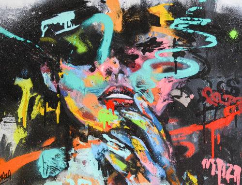 Peinture amour et tourments