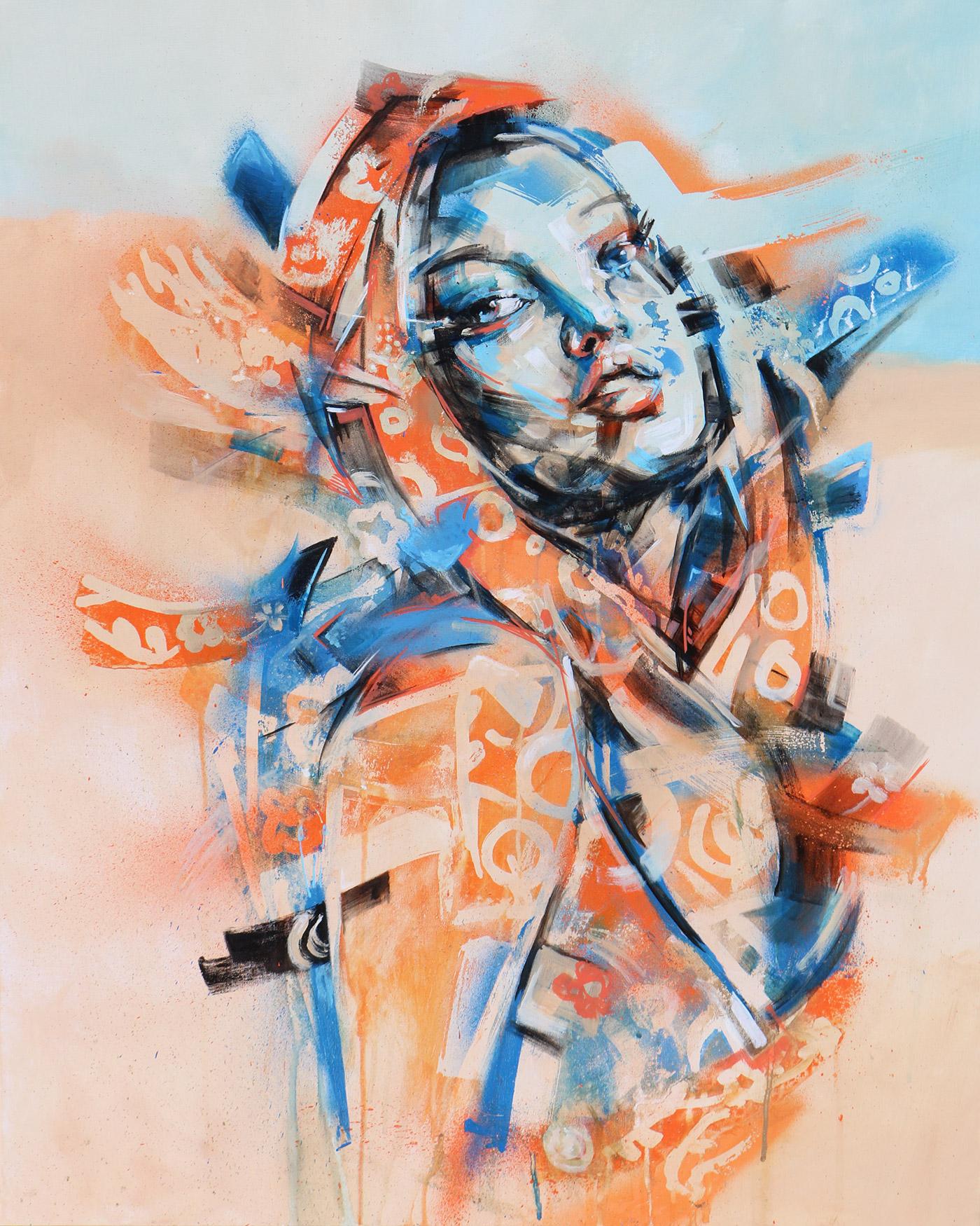 Peinture moderne: Évasion par Enkage