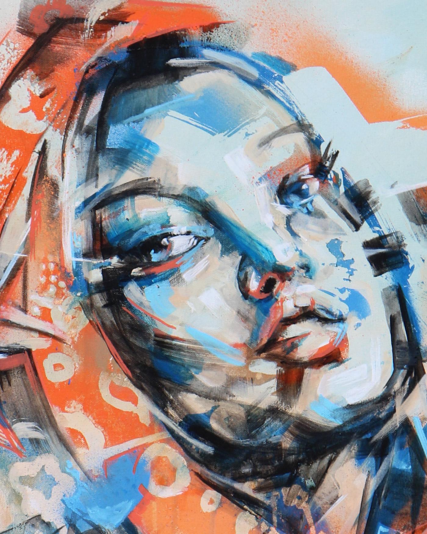 """Peinture moderne: """"Évasion"""" par Enkage"""