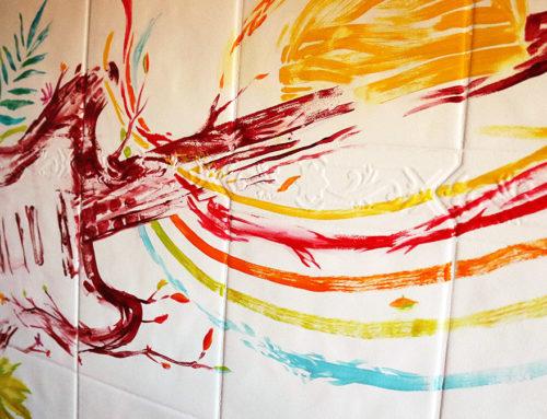 Tableau déco cuisine et peinture créative