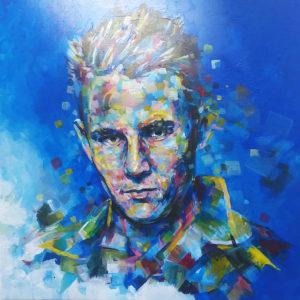 Portrait peinture cadeaux d'anniversaire par Enkage