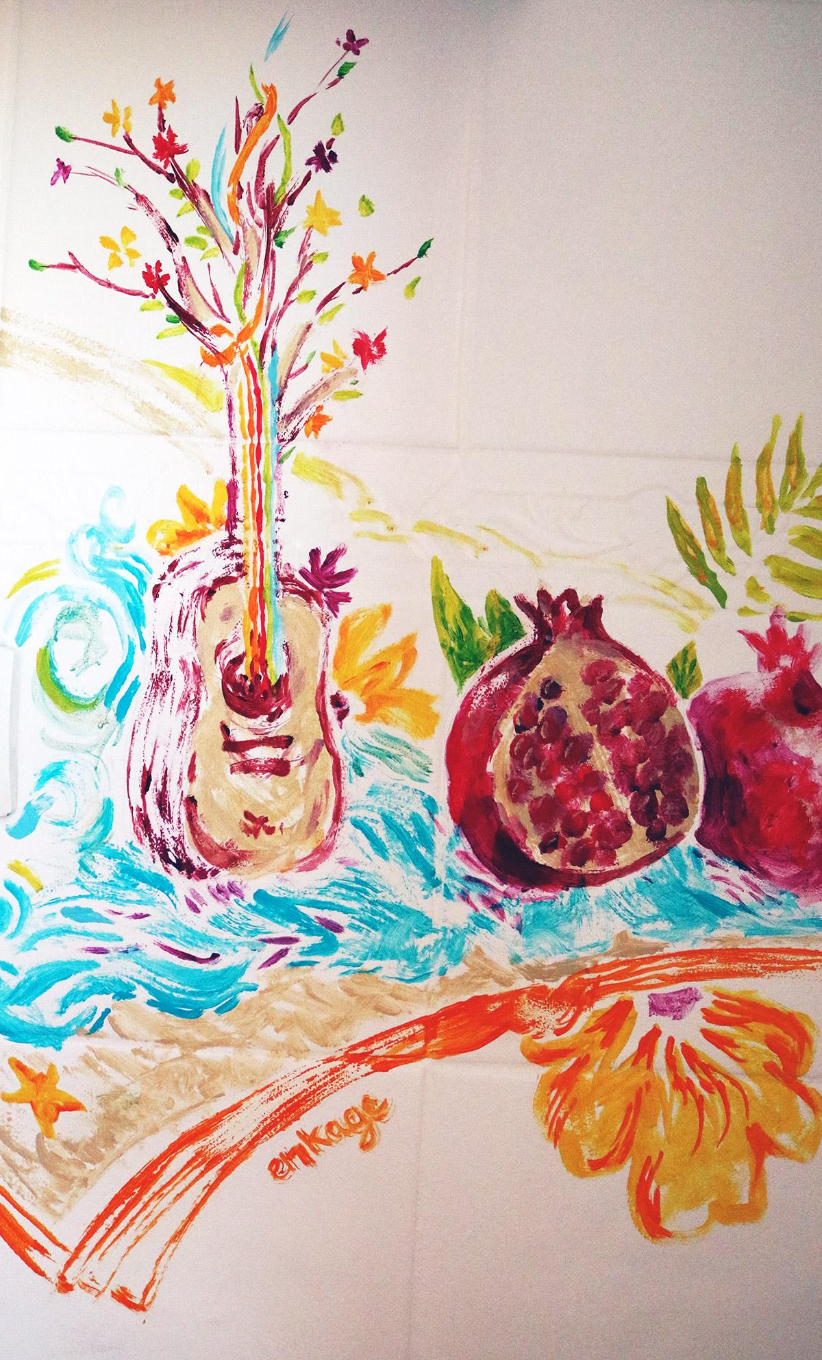 Tableau déco cuisine et peinture créative - ENKAGE