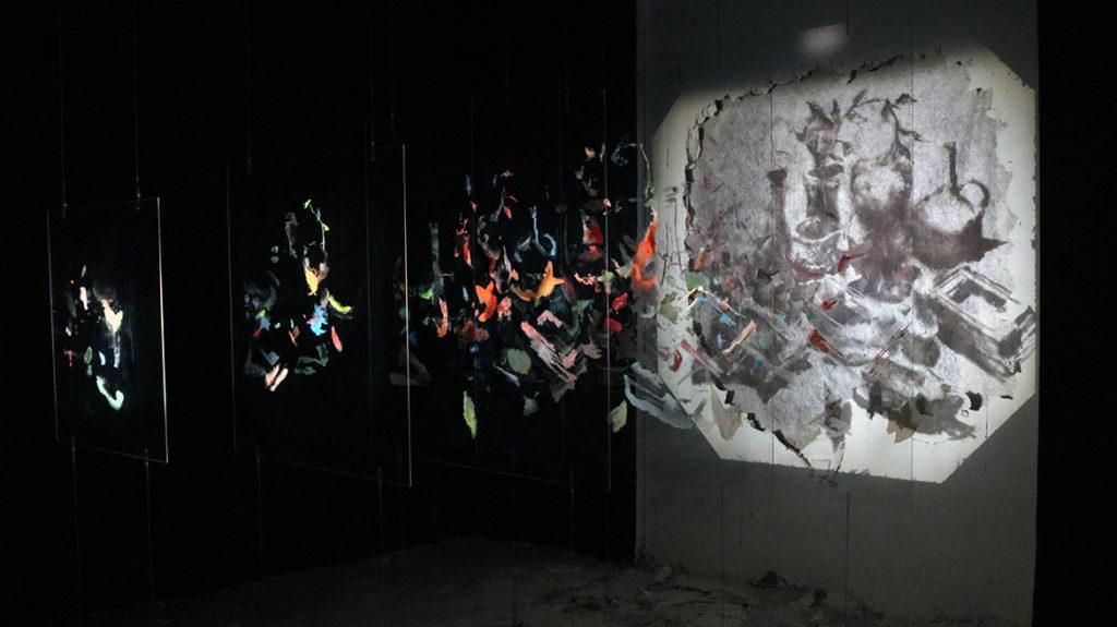 Exposition Borondo: anamorphose et nature morte