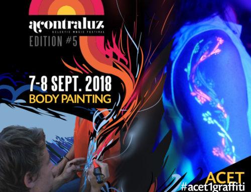 Artiste Body painting pour soirée et festival