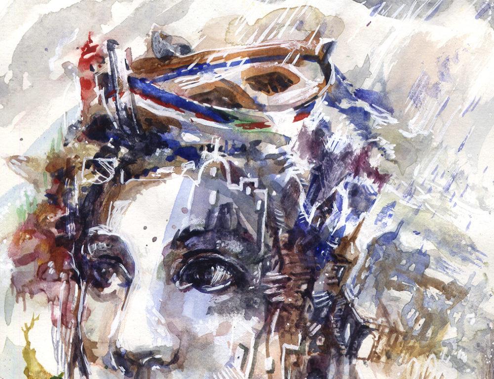 Peinture aquarelle : Inspiration à la lumière de l'automne