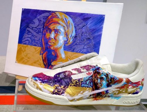 Customisation Sneaker: Customiser une basket en peinture pour Adidas