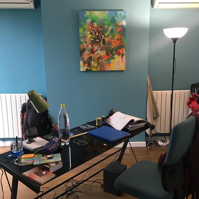La peinture comme élément du décor de cinéma : location de toile